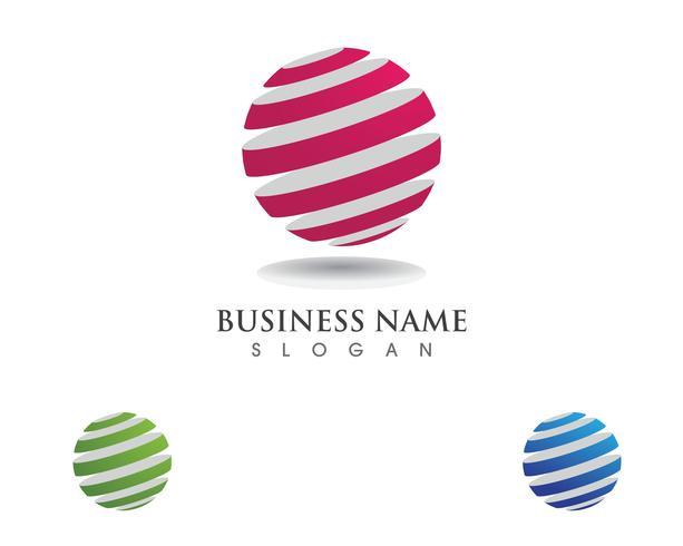 Global teknologi logotyp kommunikation