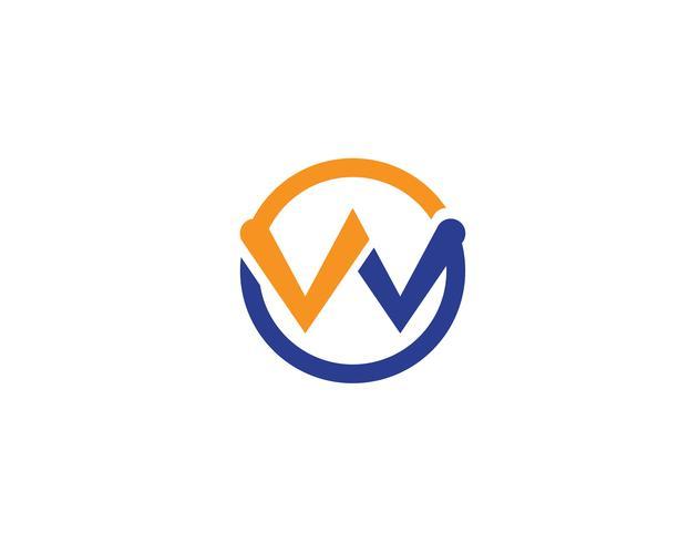 W logo et symbole