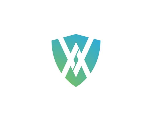 Schild Logo Vektor Vorlage