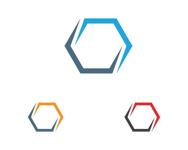 Le frecce vector le icone dell'illustrazione Progettazione del modello di logo