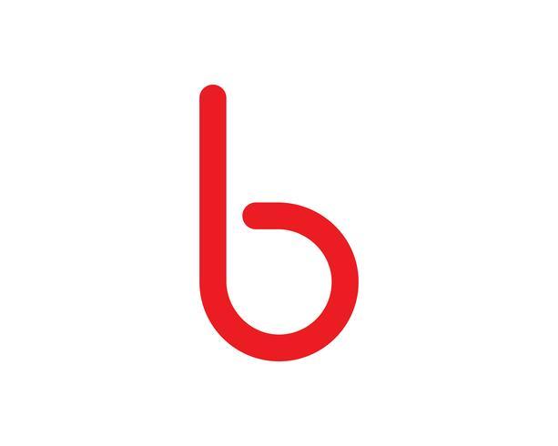 B carta Logo Business Template Vector icono