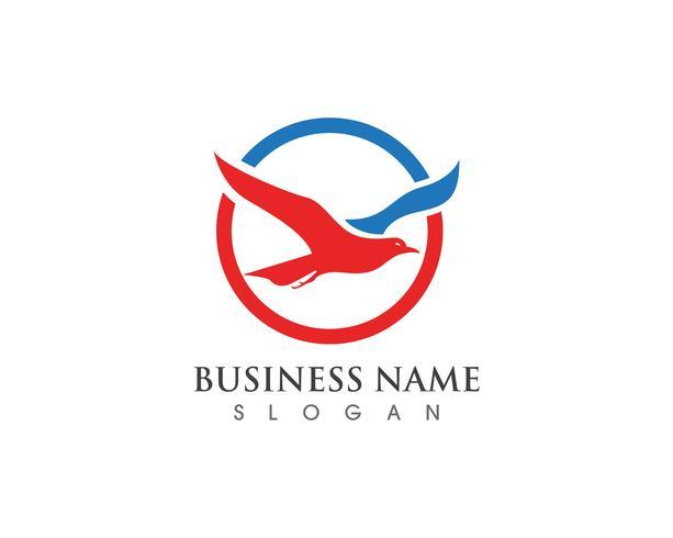 Icônes vectorielles Eagle Bird Logo Template