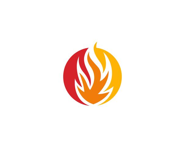 Fire Logo Template vectors