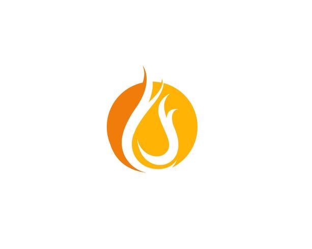 Vetores de logotipo de fogo
