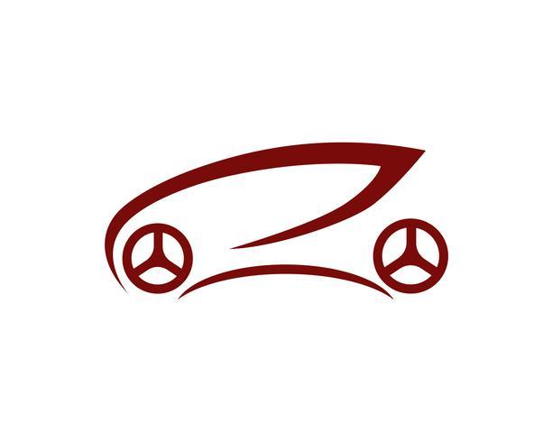 Auto car Logo Template vector ícone