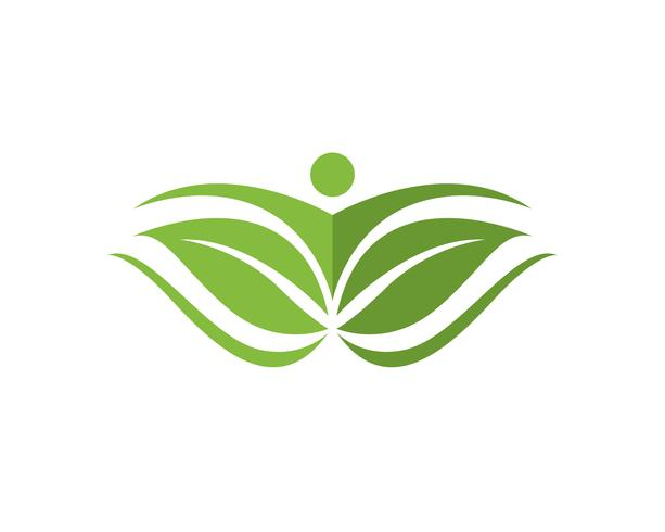 Logotipo e símbolos da vida da saúde