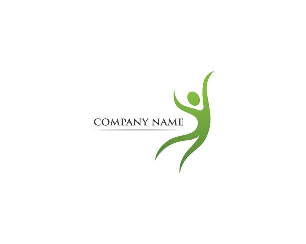 Health care logo vector template