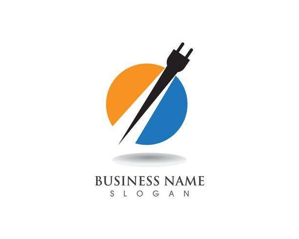 Blitzstromkabel Logo und Symbole