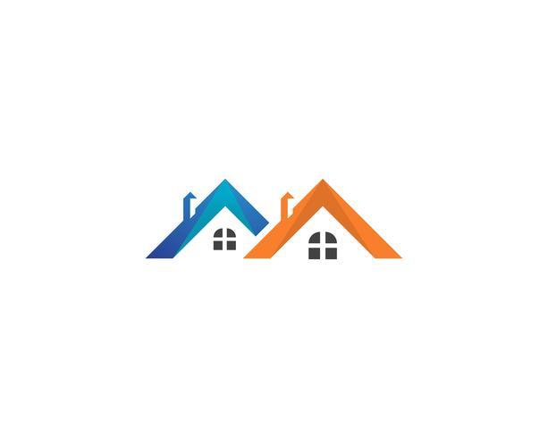 peinture logo maison d'affaires