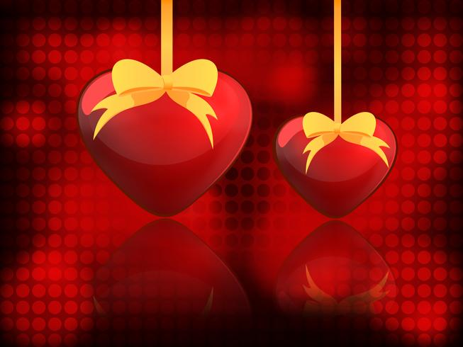 Two hearts - Valentine's Day
