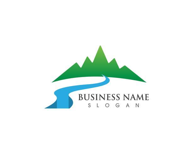 Logo e simboli della montagna