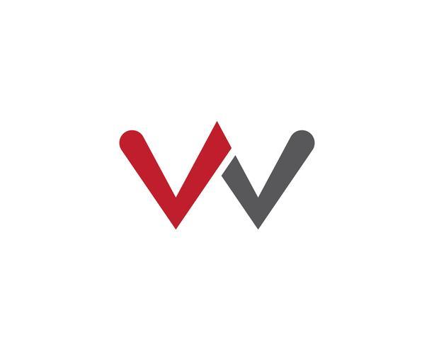 Logotipo e símbolo de w