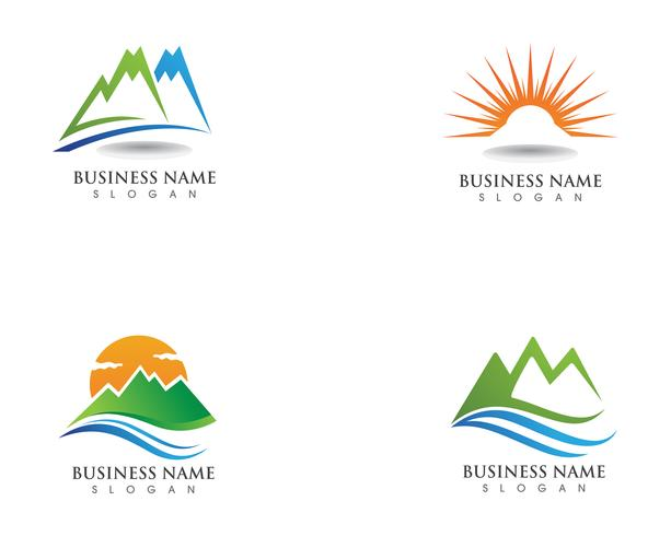 Mountain logo and symbols