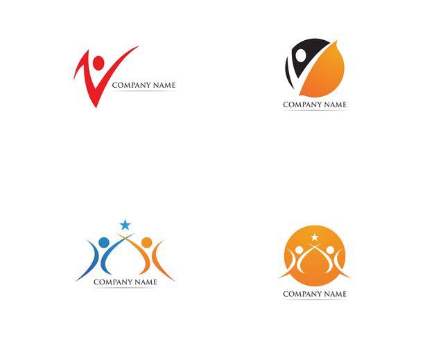 Gesundheitswesen Logo Vektor Vorlage