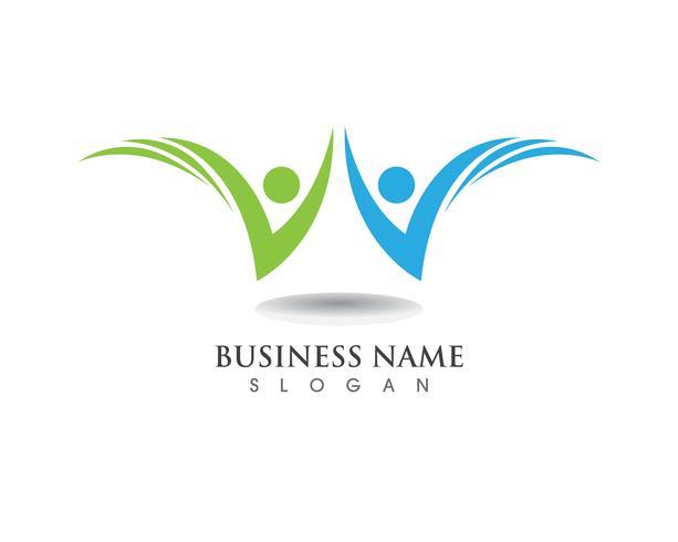 Logo persone di successo