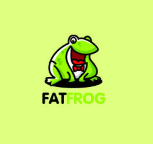 mascota rata gordo personaje mascota vector