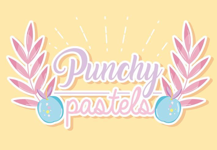 Punchy pastel concept