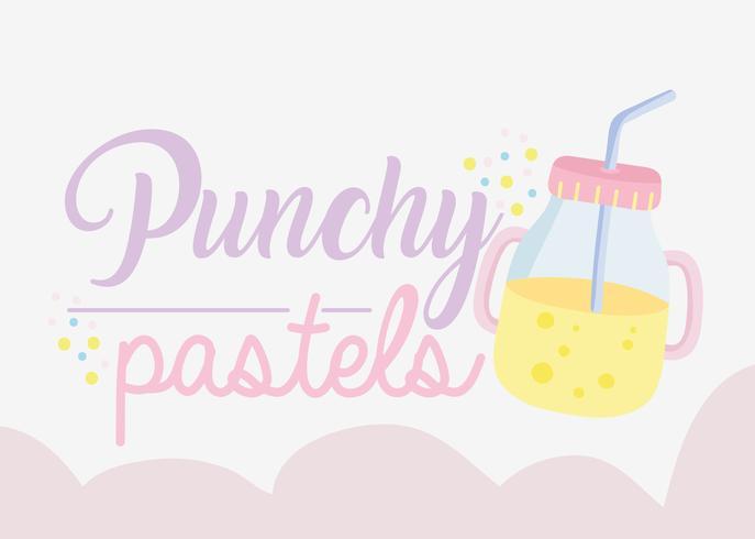 Punchy Pastellkonzept