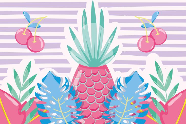 Punchy frutas pastel