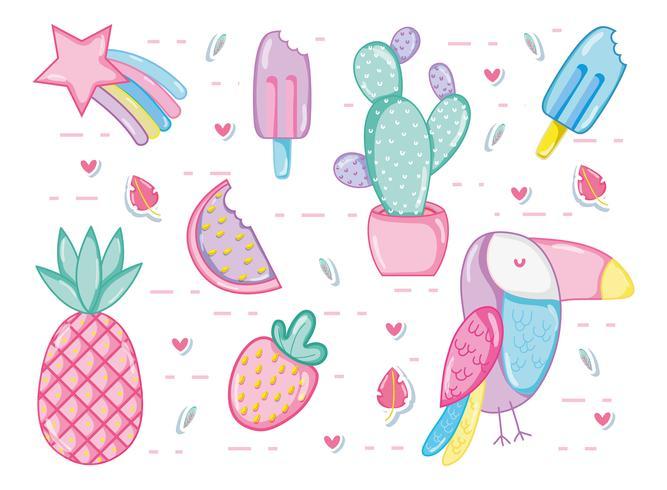 Collection estivale pastel punchy