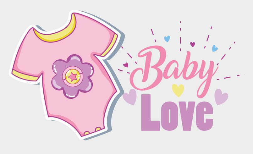 Tarjeta de amor bebé