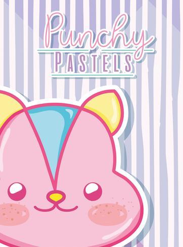 Concept de pastel punchy