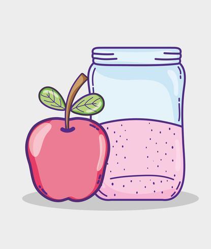 Suco de maçã verão