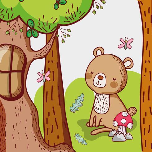 Oso en el bosque