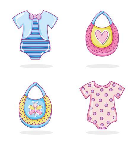 Collection de vêtements pour bébés