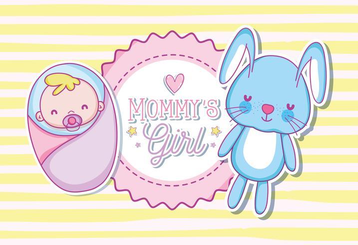 Mommys fille dessin animé