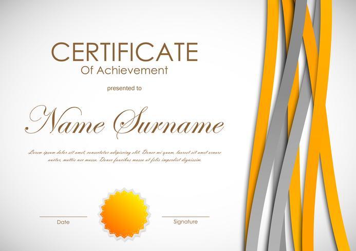 211978 Certificate of achievement template