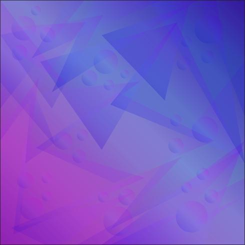 Fundo geométrico abstrato brilhante com triângulos e bolas para o negócio