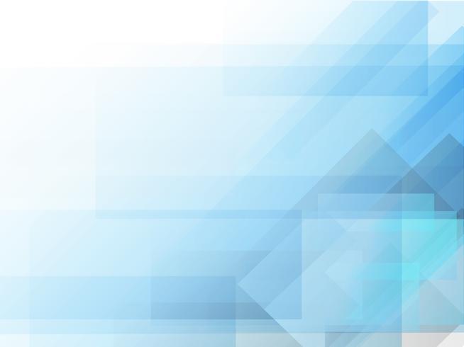 Abstrait géométrique bleu vecteur