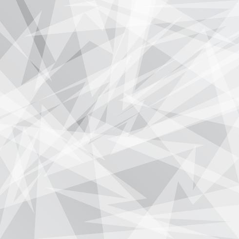 Abstrakter grauer geometrischer Hintergrund mit Dreiecken