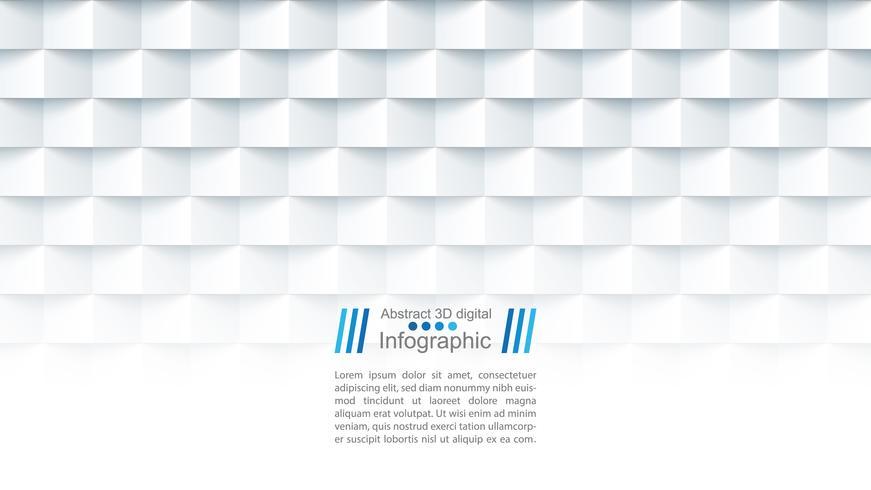 Modello di carta astratta - stile origami
