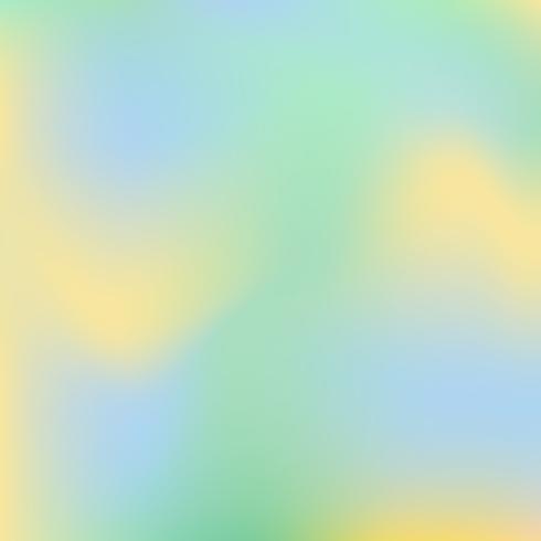 Vector sfocato sfondo astratto nei colori blu, verde e giallo