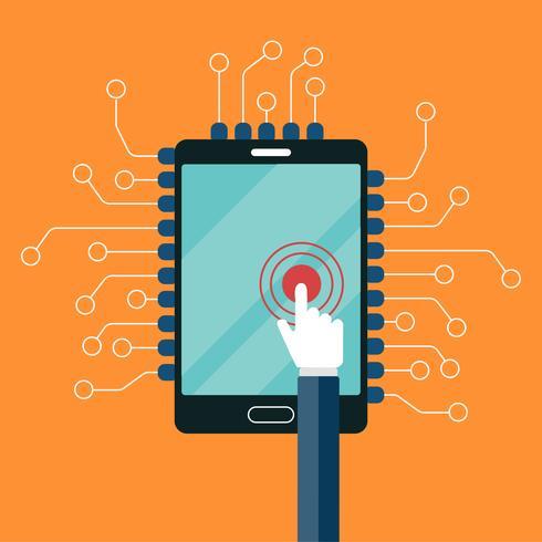 Mobila applikationer och mobilutvecklingskoncept