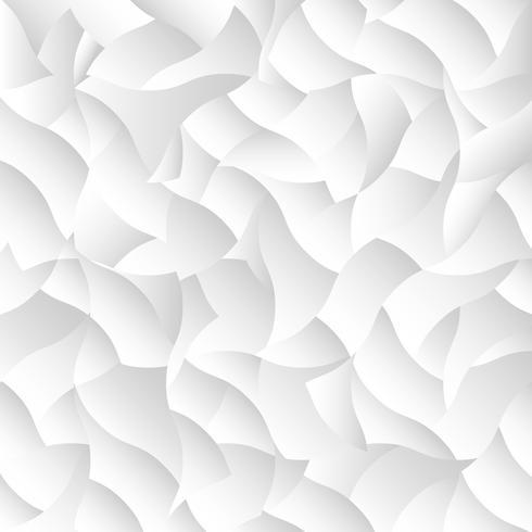 Fond géométrique de vecteur blanc
