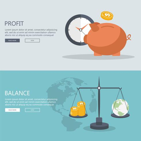 Concepts for finance and stock market, investing, making money, profit, piggy bank, donation