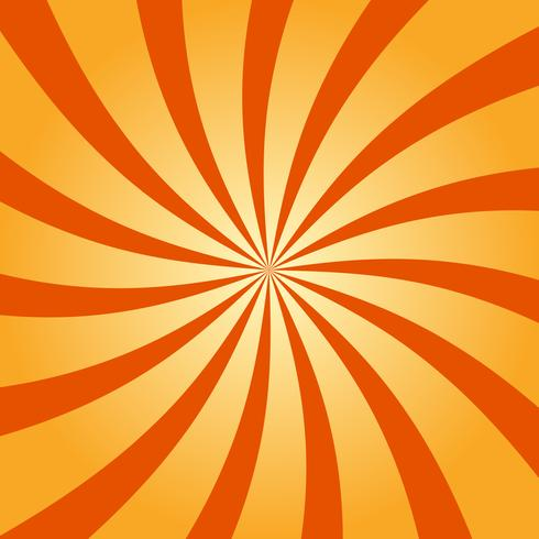 Abstract retro swirling radial pattern background