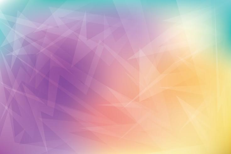 Bunter heller abstrakter geometrischer Hintergrund für Geschäft
