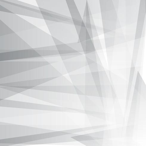 Geometric abstract grey background for business vector