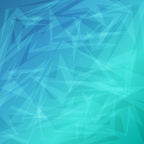 Blauwe heldere abstracte geometrische achtergrond voor zaken