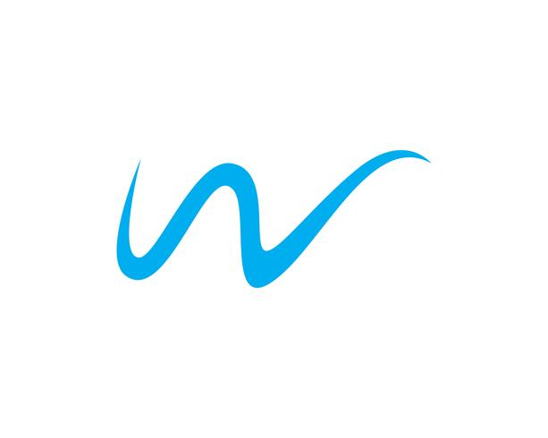 W Logo Vektor Vorlage