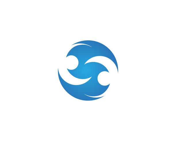 S logotyp vektor mall