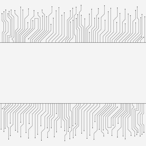 Kringsraad, high-tech technologiebanner, achtergrondtextuur vector