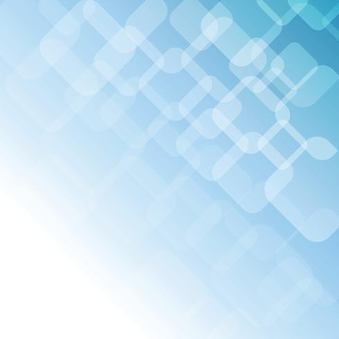 Fondo suave abstracto azul con formas geométricas vector