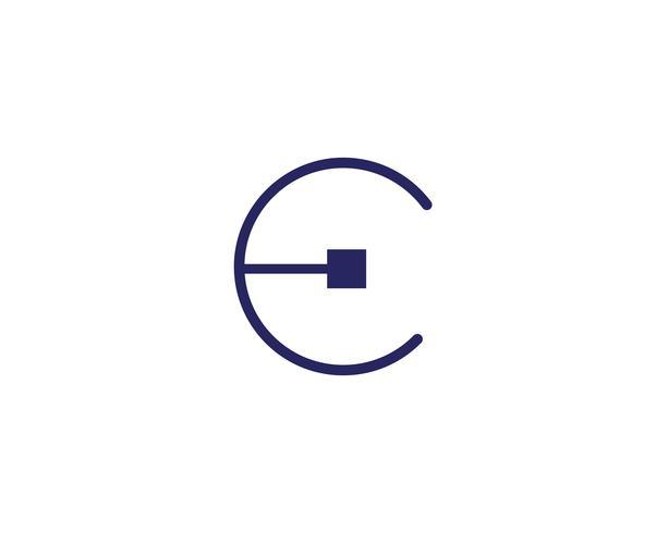 Modelli di vettore logo cerchio