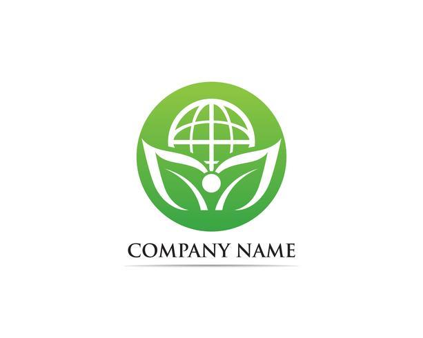 Ir ilustración de vector logo verde