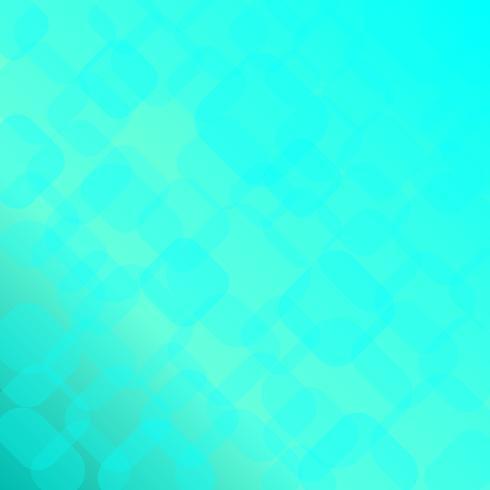 Abstracte helderblauwe achtergrond met geometrische vormen